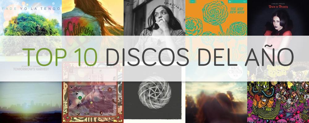 top 10 discos 2013