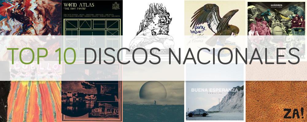 top nacional 2013 discos