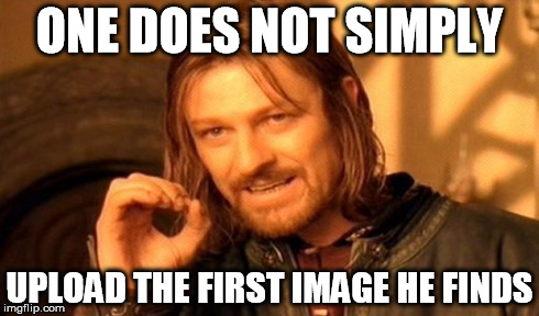 dont put any image